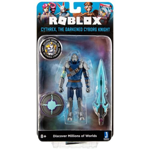 Roblox – Imagination Collection: Cythrex The Darkened Cyborg Knight