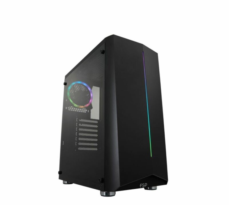 Fortron CMT151 Black, ATX, Power supply included No
