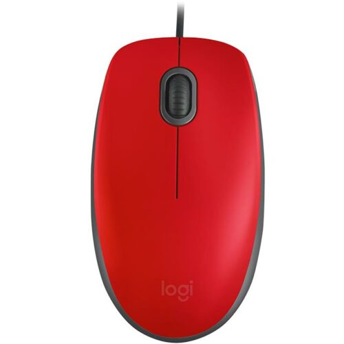 MOUSE USB OPTICAL M110 SILENT/RED 910-005489 LOGITECH